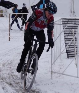 Wendy Simms at UCI Worlds - Louisville Jan 2013 Photo: Helen Wyman